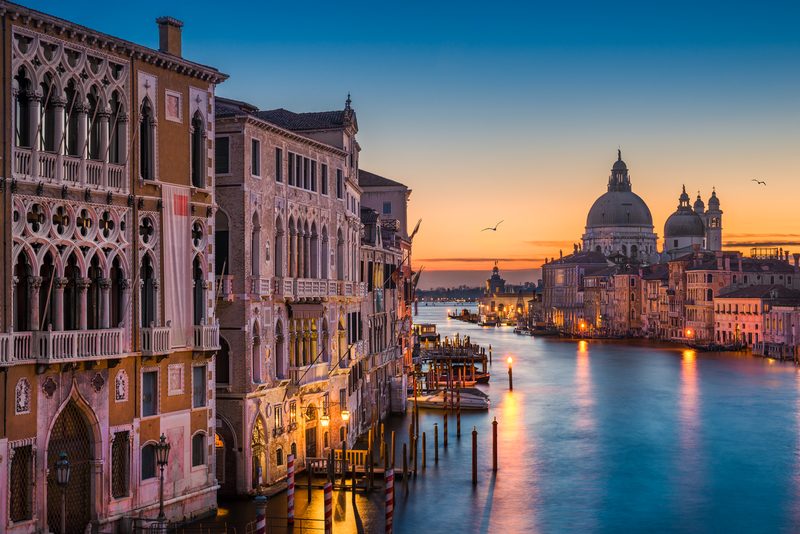 The Grand Canal in Venice is a must-see attraction.
